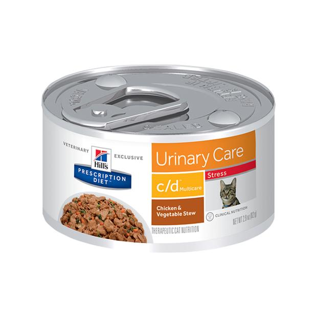 C D Cat Food Multicare Stress Wet Food